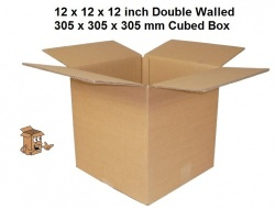 Cardboard Boxes 12 x 12 x 12 inch ideal for plates